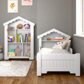conjunto-mini-cama-magia-com-colchão-estante-branca-ofertamo