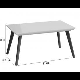 Mesa de Centro Classic Imcal Off White - 61811