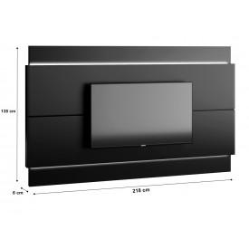 Painel Classic Imcal 2.2 Preto Fosco Com LED - 73747/13