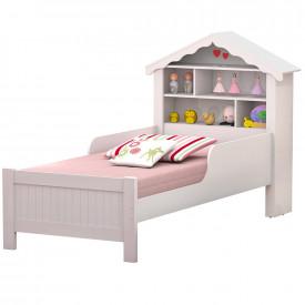 conjjunto-cama-solteiro-casinha-princesa-branca-ofertamo