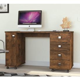 Mesa Para Computador Office Smart Lukaliam Canela