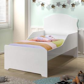 Mini cama Juvenil - Branco Acetinado