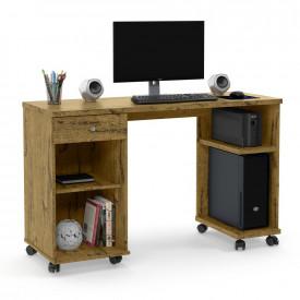 Mesa para Computador Million Nature com Rodízios Escritório Patrimar