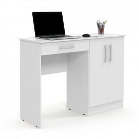 Mesa para Computador Space Multiuso Branco Patrimar