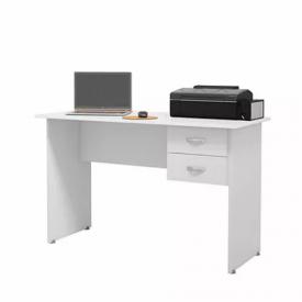 Escrivaninha Master Ej Móveis Branco 4500 Escritório Office