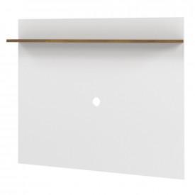Painel Vênus 1.36 Tebarrot Branco Amêndoa TV 50 Sala Quarto